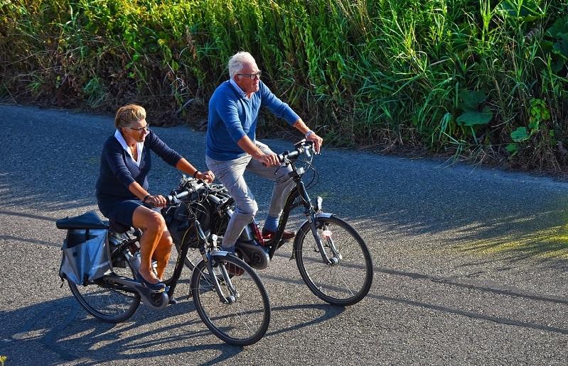 Turbo für die Gesundheit: Fahrradfahren im Alter