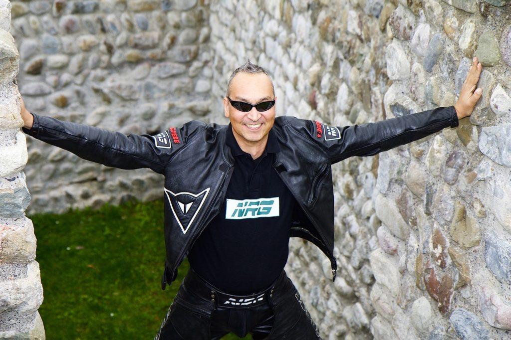 Lederjacke: Gehört zum Motorradfahrer wie das Motorrad selbst